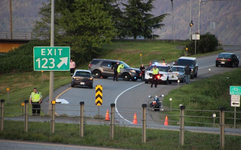Fatal motorcycle crash in Chilliwack