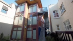 A container home is pictured in downtown Vancouver, B.C. Monday, April 20, 2015. (Jonathan Hayward / THE CANADIAN PRESS)