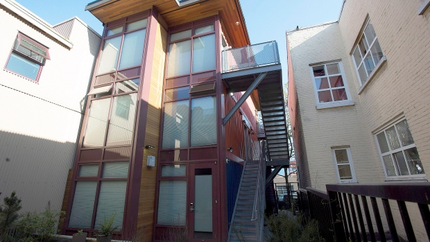 container home in downtown Vancouver