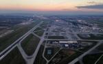 YVR Airport sunset generic