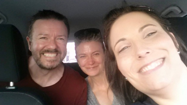 Ricky Gervais in Toronto