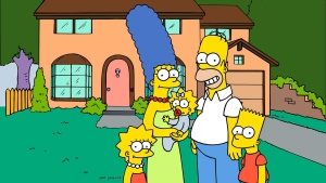 "This undated image from Fox Broadcasting is a still from ""The Simpsons."""
