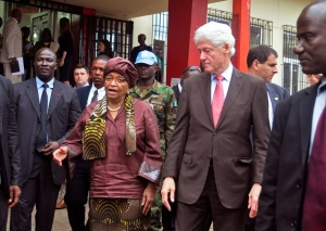 Bill Clinton praises Liberia's progress on Ebola