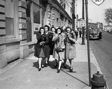 VE Day, May 7, 1945 in London, Ont.
