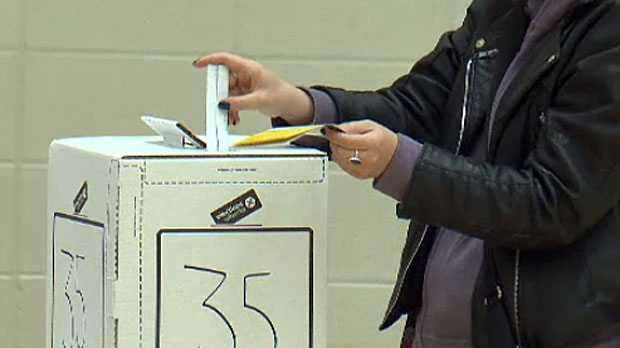 Unofficial results show that 59 percent of eligible Albertans cast their ballot in Tuesday's election, coming very close to the 60 percent mark that saw Ralph Klein elected Premier in 1993.