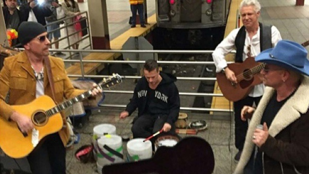 U2 subway