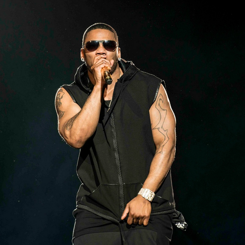 Nelly performs at Vancouver's Rogers Arena on May 5, 2015. (Anil Sharma for CTV)