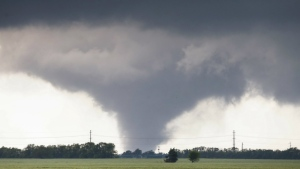 Tornadoes in Oklahoma destroy homes, flip cars