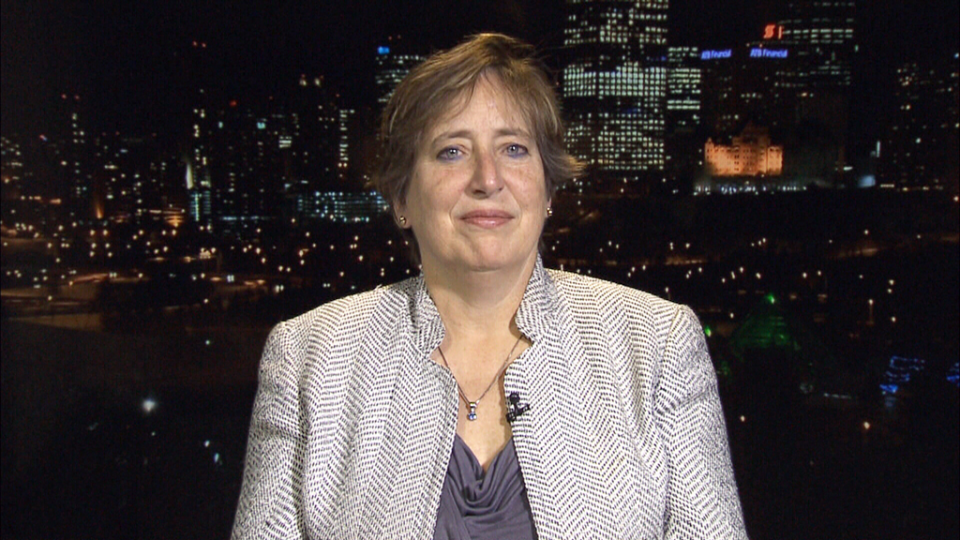 Patricia Edney appears on Canada AM from Edmonton on May 8, 2015.