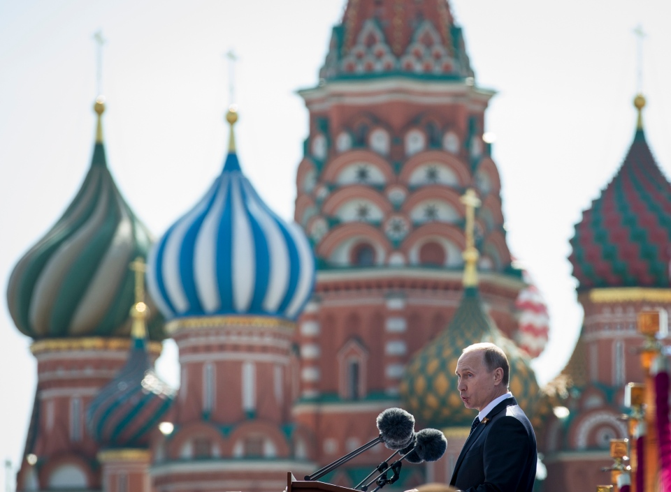 Putin gives Victory Day speech in Moscow