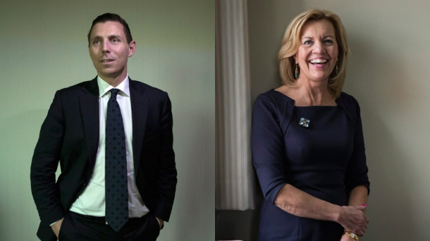 Patrick Brown and Christine Elliott