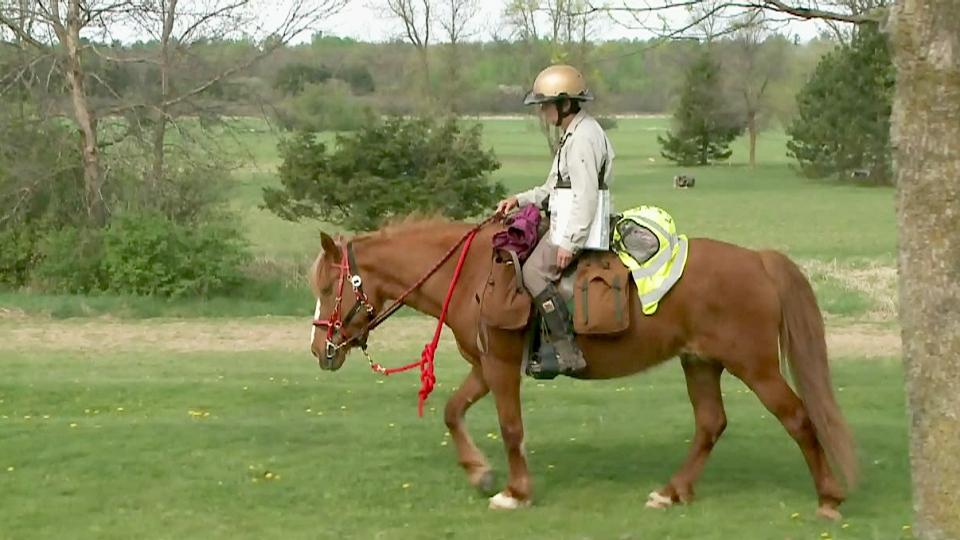 CTV Ottawa: Epic journey on horseback