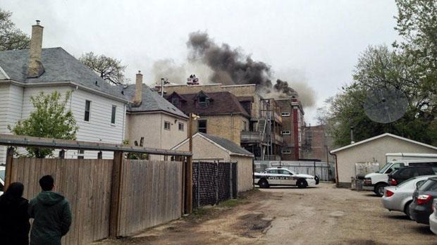 Bannatyne Avenue blaze