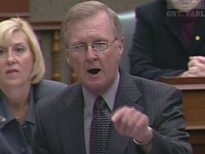 Tory MPP Bob Runciman wants tougher sentences for offenders.