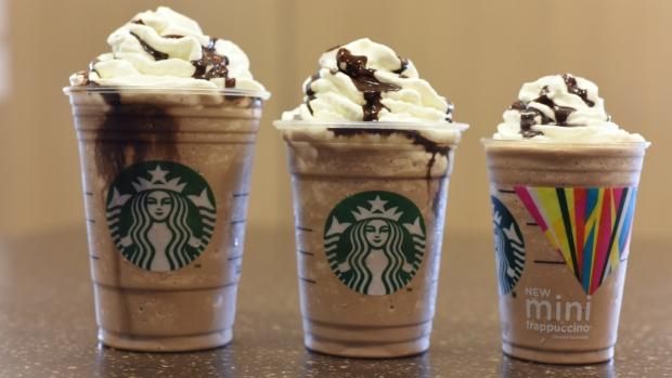 Starbucks' mini frappuccino