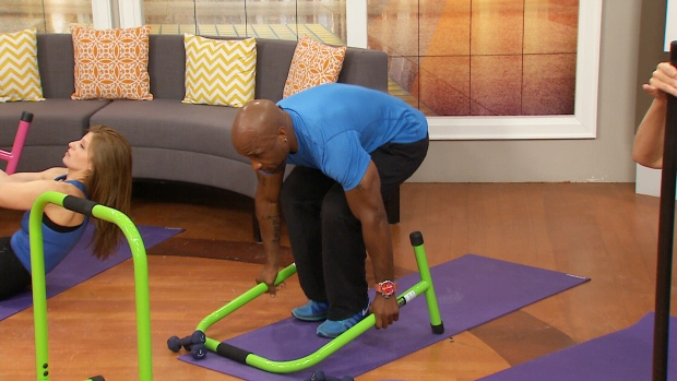 Canada AM: Working out at BARRE