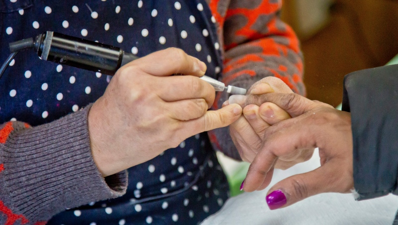 Salons that offer nail and eyebrow services aren't allowed to open until Stage 2 of Alberta's relaunch strategy. (File)