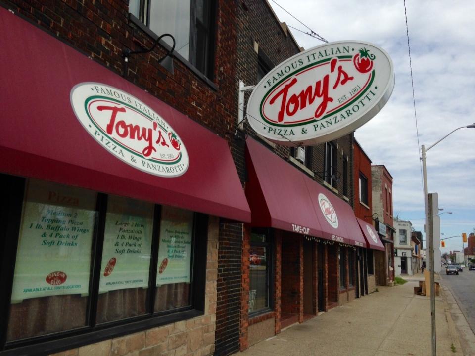 Tony's Famous Italian Pizza