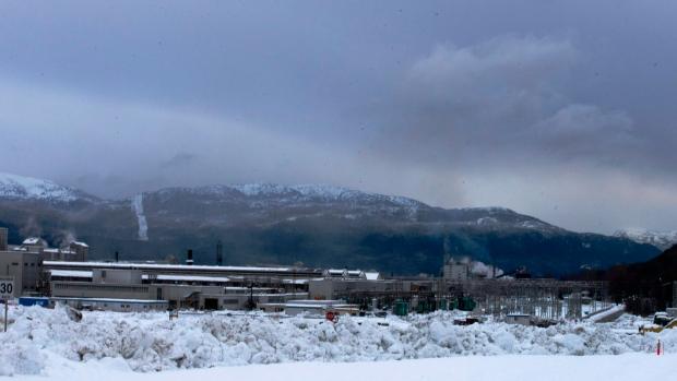 Rio Tinto Alcan aluminum smelter