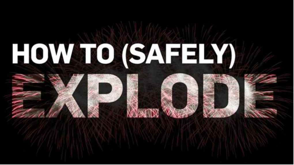 How to safely set off fireworks