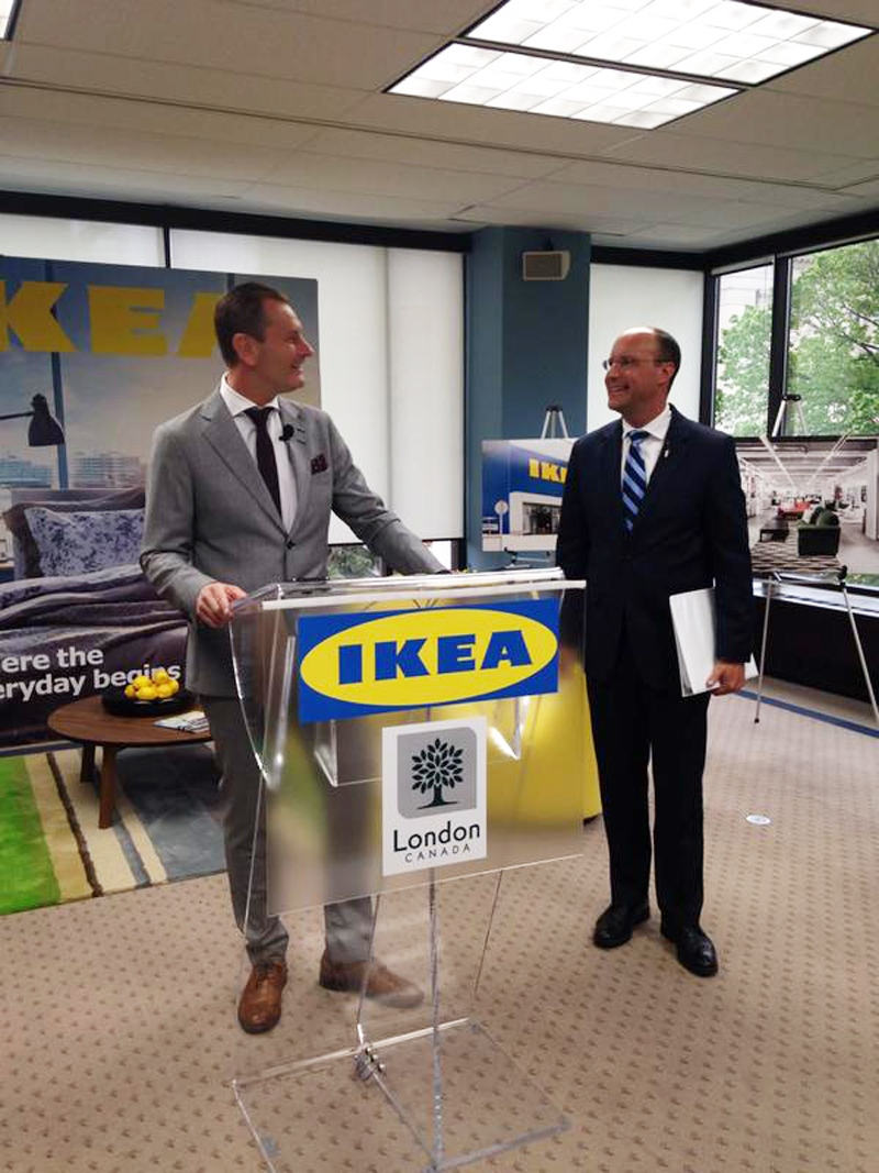 ikea to open 39 pick up point 39 store in london ctv london news. Black Bedroom Furniture Sets. Home Design Ideas