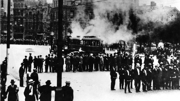 On This Day In 1919 Winnipeg Workers Cripple City In