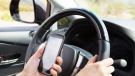 Constable Duane Squires says 13 drivers were issued tickets for distracted driving. (File photo)