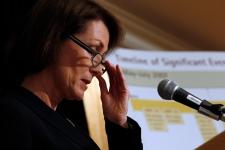 Mary Ellen Turpel-Lafond speaks about report