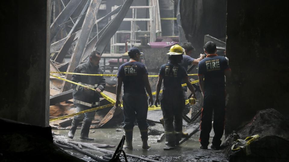 Philippines Valenzuela Fire Fire in Valenzuela City