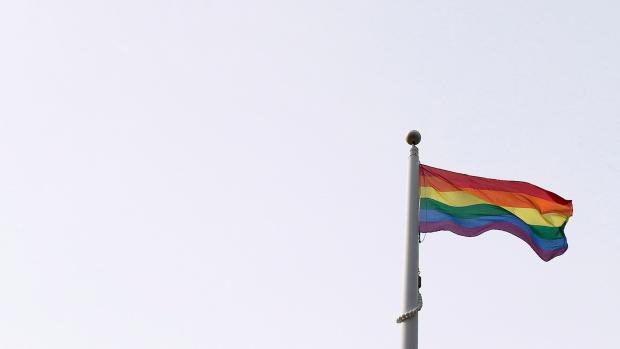 pride flag in toronto