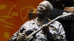 B.B. King performs during the Crossroads Guitar Festival in Chicago on June 26, 2010. King died Thursday, May 14, 2015, peacefully in his sleep at his Las Vegas home at age 89, his lawyer said. (AP / Kiichiro Sato)