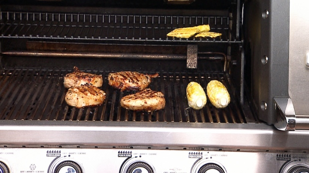 Victoria Day BBQ: Beer-brined pork chops with grilled pineapple and ...