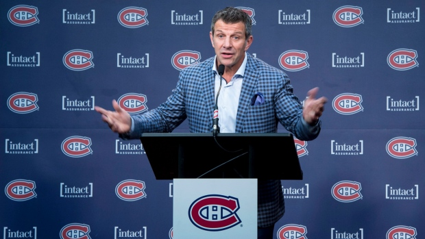 Montreal Canadiens general manager Marc Bergevin. THE CANADIAN PRESS/Paul Chiasson