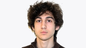 This undated photo released by the FBI on April 19, 2013 shows Dzhokhar Tsarnaev.