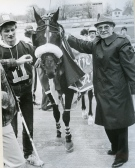 The late Londoner Harry Eisen, on right, will be inducted into the Canadian Horse Racing Hall of Fame in August, 2015. (Photo submitted)