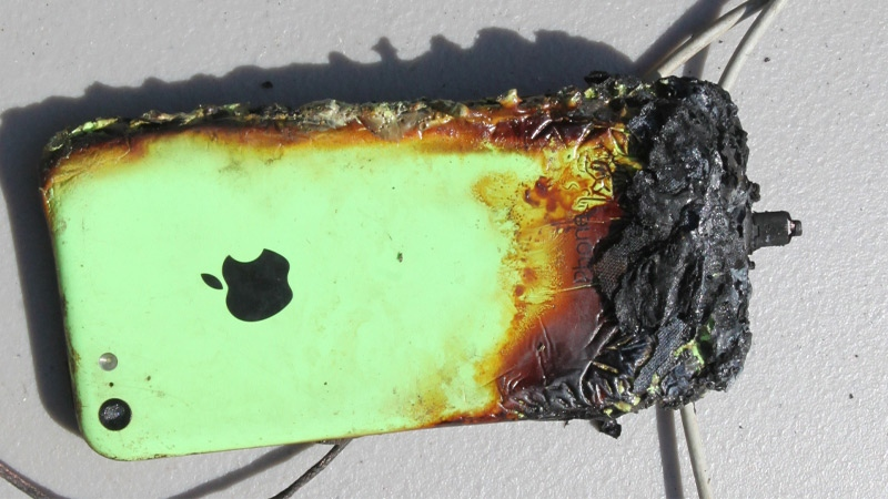 Officials Say Mobile Phones To Blame For Two House Fires