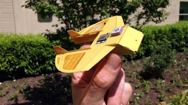 Mini drone developed by U.S. military