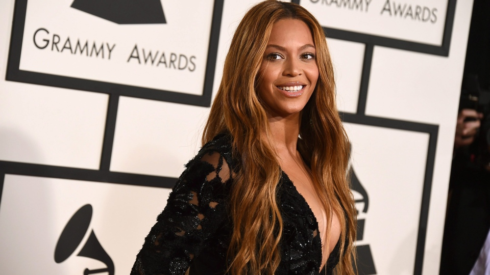 Beyonce arrives at the 57th annual Grammy Awards at the Staples Center on Sunday, Feb. 8, 2015, in Los Angeles. (Photo by Jordan Strauss/Invision/AP)