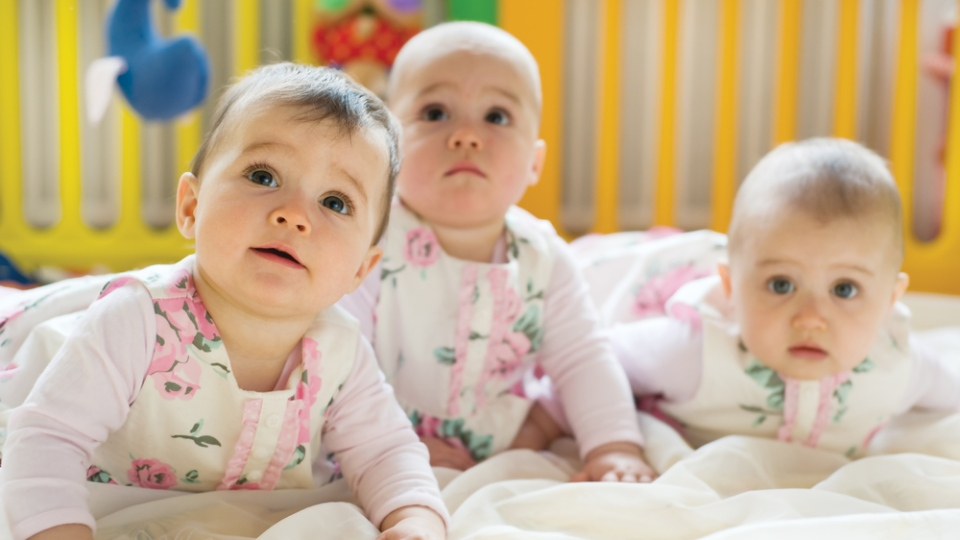 Babies prefer one another's babble over that of adults, according to a new study. (Shestakoff / Shutterstock.com)