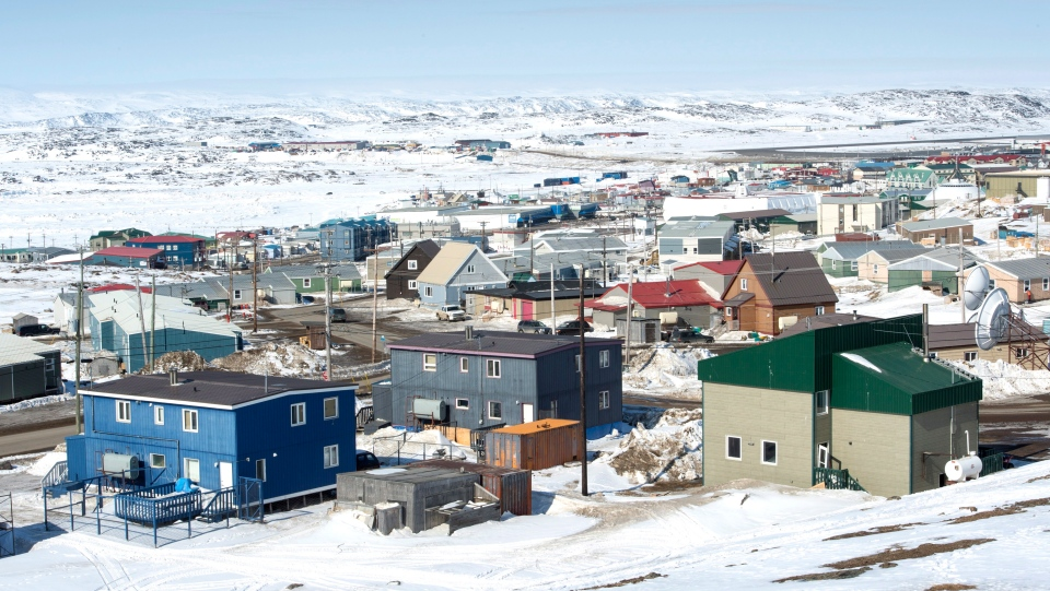 Iqaluit, Nunavut, on April 25, 2015. (Paul Chiasson / THE CANADIAN PRESS)