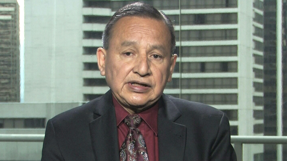Grand Chief Stewart Phillip speaks with CTV's Question Period on Sunday, May 17.