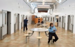 The common area of the new wing of the Baffin Correctional Centre is seen Thursday, April 23, 2015 in Iqaluit. (Paul Chiasson / THE CANADIAN PRESS)