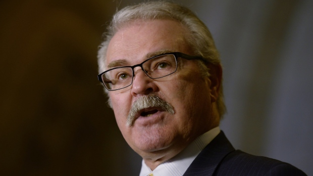 Conservative MP Gerry Ritz on Parliament Hill in Ottawa, Tuesday, May 19, 2015. (Adrian Wyld / THE CANADIAN PRESS)
