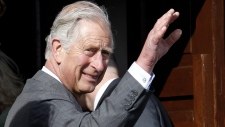 Prince Charles at Mullaghmore in Ireland