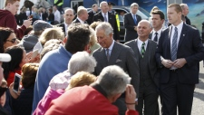 Prince Charles arrives at Mullaghmore