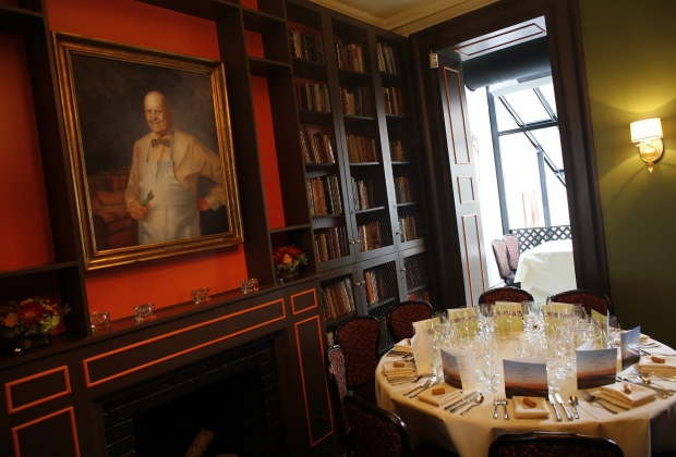 James Beard House Dining Room