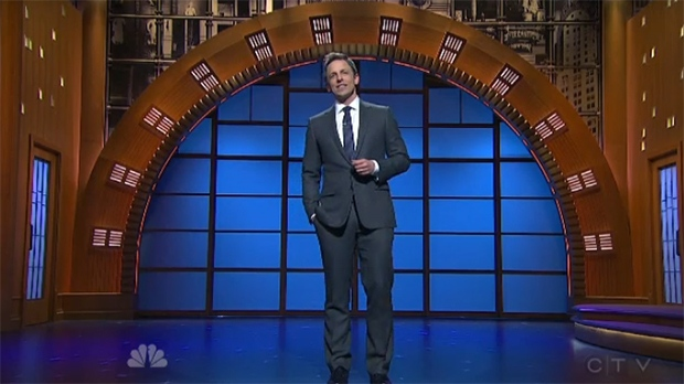Saturday Night Live alum Seth Meyers will headline a comedy night at the Jubilee Auditorium in October.