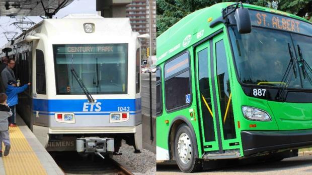 Edmonton Transit and St. Albert Transit