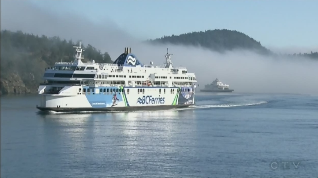 BC Ferries cancels sailings due to high winds
