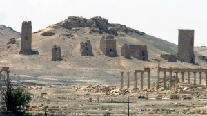 A general view of the ancient Roman city of Palmyra, northeast of Damascus, Syria on May 17, 2015. (SANA)